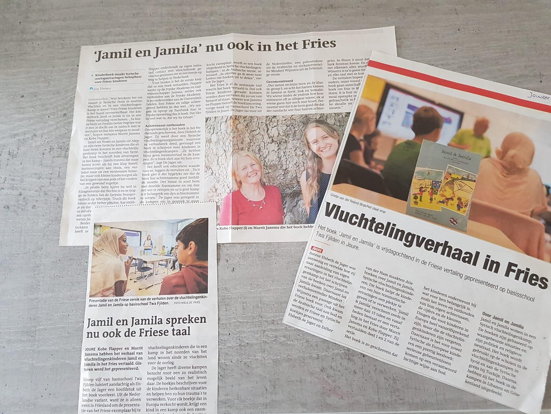 drie keer Friese krant