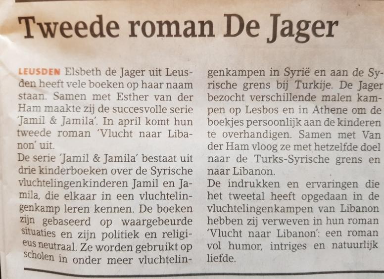 Leusder Krant 27 maart 2019